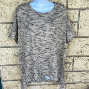 Gibson Latimer High Low Top oversized Tunic Large